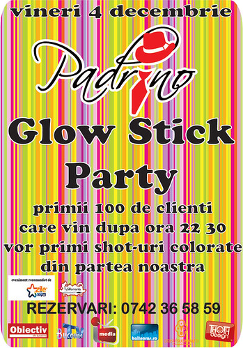 4 Decembrie 2009 » Glow Stick Party