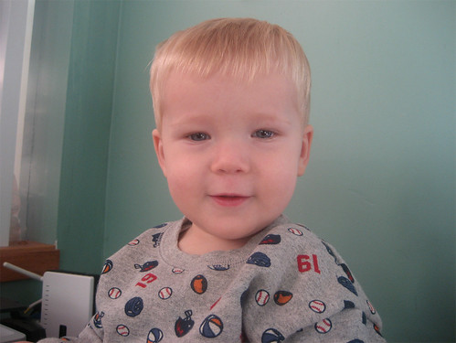 Smiley 15-month-old Jacob