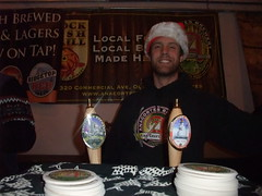Kevin Pierce of Anacortes at the Winter Beer Festival