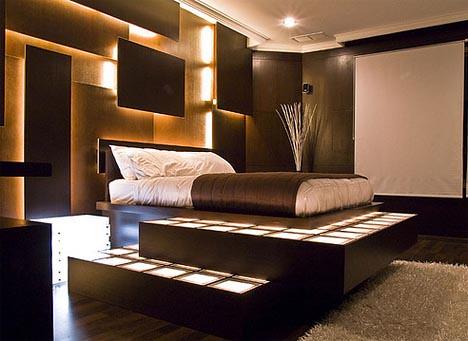 inspiratie moderne slaapkamer – artsmedia, Deco ideeën