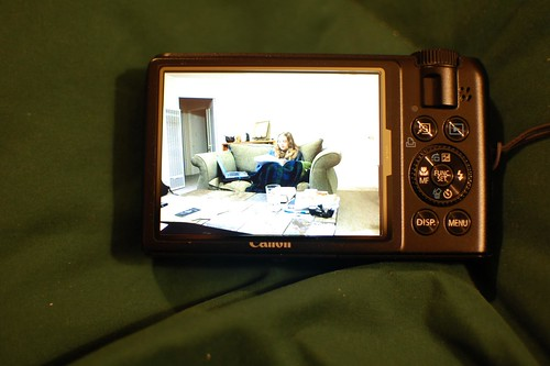 GGS DC LCD protector on Canon S90