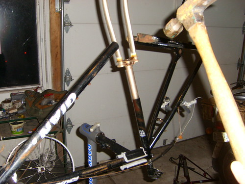 How Not To Remove A Stuck Seatpost Bike Forums