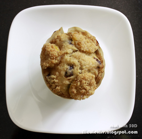 banana crumble muffin 2