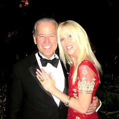 Michaele Salahi getting friendly with Joe Biden