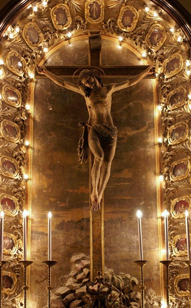 Catania, Dom Sant'Agata, Kreuzkapelle