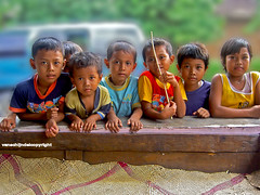 In praise of curious kids (JanvanSchijndel) Tags: world portrait people kids indonesia fun java central curious