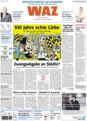 WAZ (19.12.2009): 100 Jahre Borussia Dortmund (BVB)