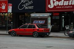 Chewjitsu (soulreclamation) Tags: car sweet snickers chewjitsu