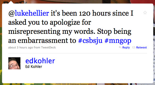 120 Hours into @lukehellier Apology Wait