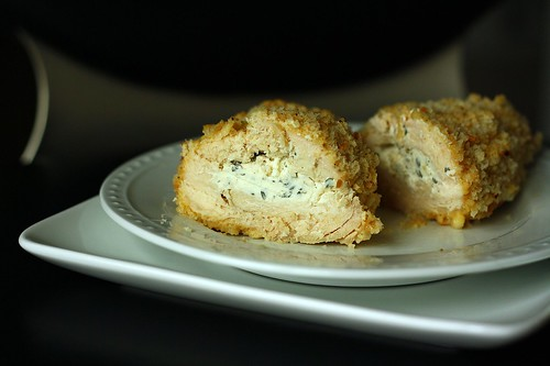 Breaded & Stuffed Chicken Breasts