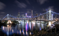 Brisbane (Sarmu) Tags: city bridge light wallpaper urban building skyline architecture night skyscraper river lights highresolution downtown cityscape view skyscrapers nightshot widescreen australia brisbane 1600 qld queensland highdefinition resolution 1200 cbd hd wallpapers brisbaneriver 2009 1920 storybridge newfarm vantage vantagepoint ws 1080 oceania 1050 720p 1080p urbanity 1680 720 2560 bowentce sarmu