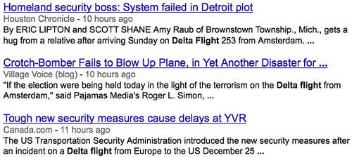 Delta Flights in the News