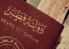 (- M7D . S h R a T y) Tags: travel traveling passport darkred wordsbyme  stateofqatar allrightsreserved