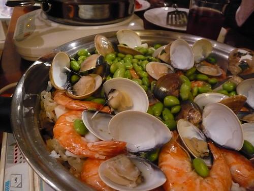 西式海鮮燉飯完成