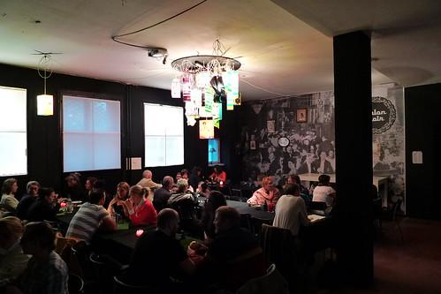 Salon Noir bei Atelierfrankfurt