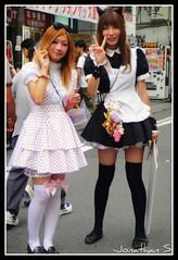 TOYS  US (! ! JJJJJJJ) Tags: girls urban sexy japan asian japanese tokyo asia cosplay lolita harajuku kawaii  akihabara akiba gals  maid japanesegirl frenchmaid nipon gyaru  chikas maido costumeplay  maidcaffe