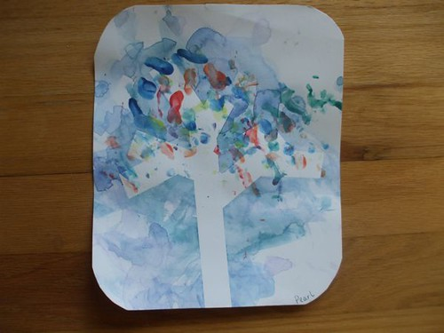 Pearl's tree painting