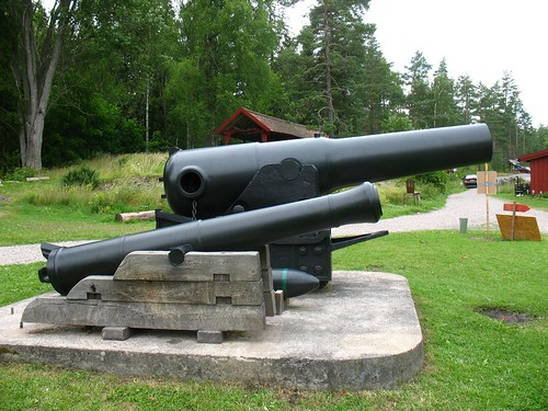 Cannon made at Åkers Styckebruk from iron from this mine