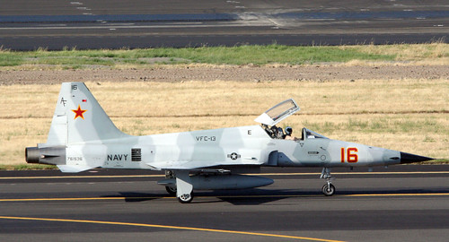 """Fighter airplane picture - """"Bogey 90"""" Northrup F-5"""