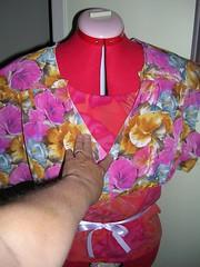 gala dress muslin