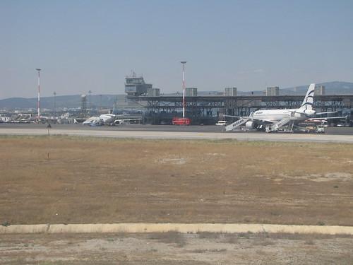 Departing Thessaloniki