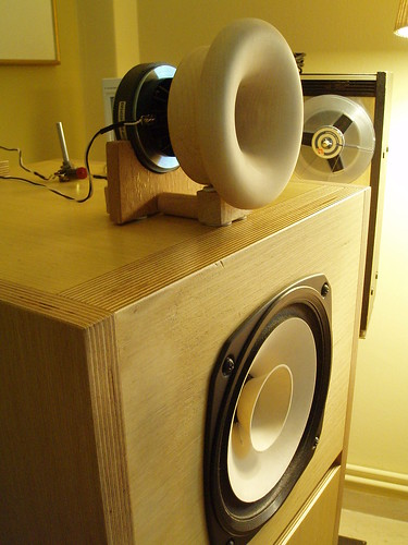 tractrix-horn