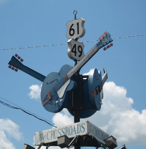 Crossroads - Clarksdale, MS by Joe Mazzola