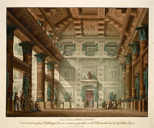009-Habitación en el palacio de Memfi-1817