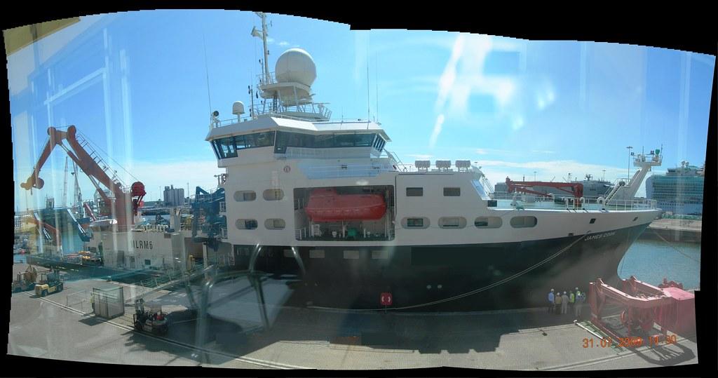 james cook survey vessel NERC Southampton NOC
