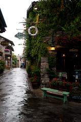 090717-8 Yvoire, Grande Rue (Hans de Regt) Tags: evian genve jeanette lacleman yvoire hermance zwitzerland hotellesflotsbleus
