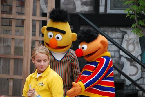Ernie! Bert! <gasp!> Ogling?