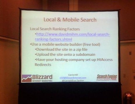 Local & Mobile Search slide