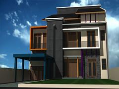 Desain Rumah Minimalis di Jatiasih Bekasi by Indograha Arsitama  Desain & Build