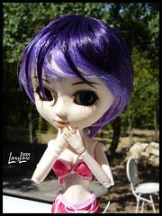 La piscine. (.LanyLane.) Tags: bigeyes doll pullip purplehair poupe plasticdoll junplanning suiseiseki pullipsuiseiseki