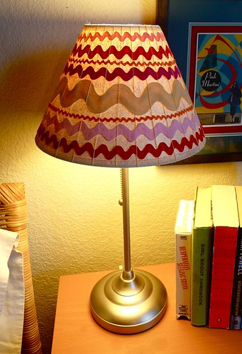 How to Weave a Ric Rac Lampshade