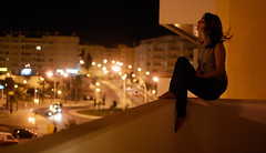 City life is millions of people being lonesome together. (Ana Santos) Tags: city portugal night hair wind bokeh quote song balcony cascais henrydavidthoreau 52weeks anasantos alwayssummer ilustrarportugal srieouro whyigrewoutmyhair anaalmada tehskinnyjeans theoliviers 50mngoldenlight