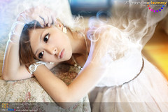 The flying mind () Tags: portrait mist girl beautiful beauty digital photoshop canon aperture pretty bright image rebecca sweet smoke vision mind colourful vapour designers flickraward
