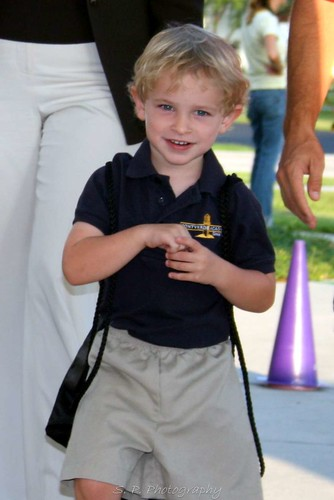 First day of school - Lower school