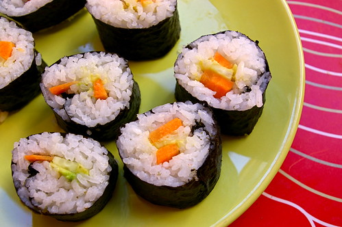 Maki sushi (después)