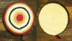 Agarradera Amarilla (à la pipetoi) Tags: crochet regalo presente agarradera