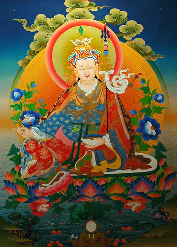Painting of Padmasambhava, Guru Rinpoche by Wonderlane, on Flickr