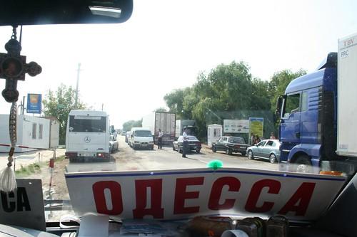 Transporte marshrutka Odessa até Chisinau
