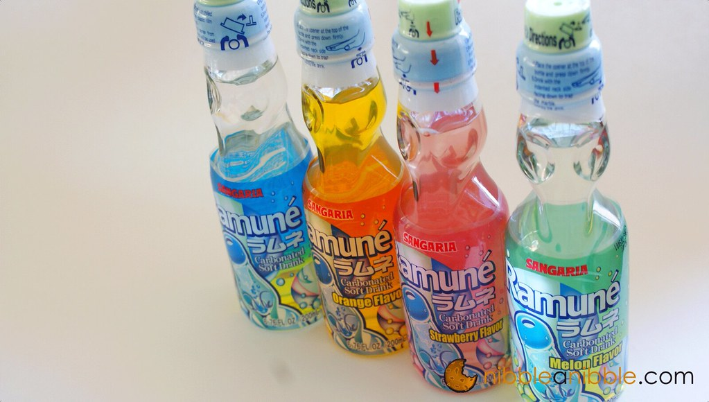 Different Flavors of Ramune
