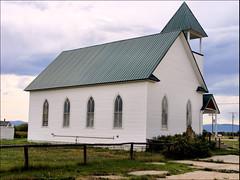 43266 Church of the Big Hole (Raymond Hitchcock) Tags: old buildings town montana wisdom bigholevalley seattleray spendadaytouring goldwestcountry