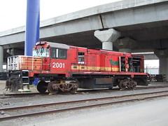 ex Tasrail DQ 2001 (AA654) Tags: railway loco australia melbourne tasmania locomotive tasrail