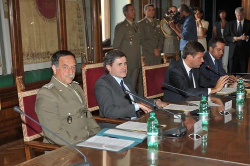 Conferenza stampa Atac per i militari