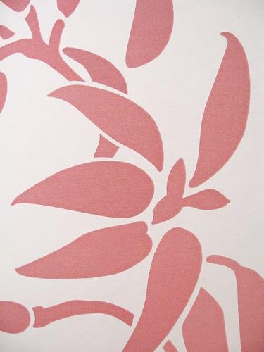 Fuchsia & Humming Bird - Fuchsia Pink