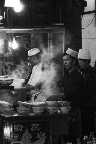 Xian Muslim Market (by niklausberger)