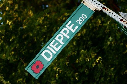 WWI & II Windsor Streets - Dieppe