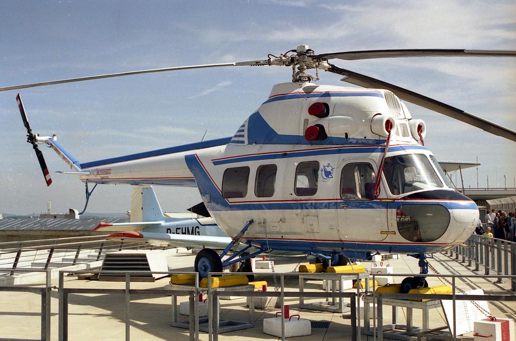 Mil Mi-2 529021124 Stuttgart Airport